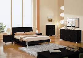 Bedroom  Appealing Interior Bedroom Furniture Sets Brown Walnut - Black and walnut bedroom furniture