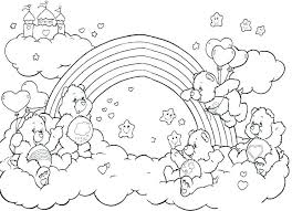 Rainbow Coloring Sheet Unicorn Rainbow Coloring Pages And Page Sheet
