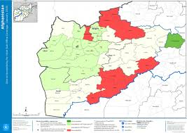 Office Coverage Afghanistan District Accessibility For Hirat Sub Office