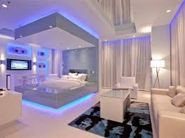 bedroom led lighting ideas. awesome and cool blue bedroom decorating ideas indoor weight room decor led lighting 15 o