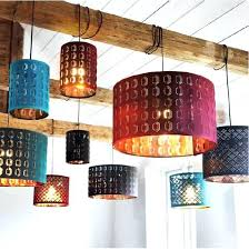 ikea pendant light exciting lights hanging many hanging lamps are diffe colors and hanging on wood