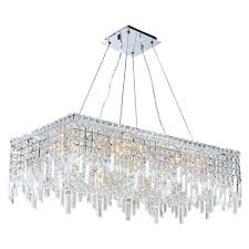 rectangular crystal chandelier with shade rectangular crystal chandelier with black shade worldwide lighting w83626c32 rectangular crystal chandelier canada