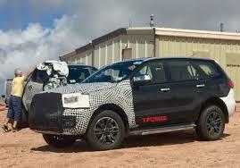 2020 Ford Bronco Everest SUV Prototype Spy Shot