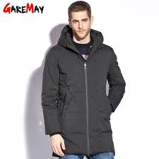 2018 garemay winter mens parka puffer jacket feathers coats men s down jackets long casual thickening duck down coat for men 2017 q171135 from shen8407