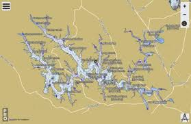 Tims Ford Lake Fishing Map Us_aa_tn_timsford_lake