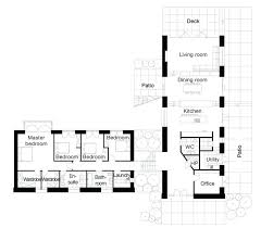 style house plan 4 beds baths sq ft l shaped u floor plans australia