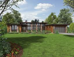contemporary ranch house plans. Fine House Front Rendering With Contemporary Ranch House Plans
