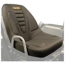 2 kolpin neoprene utv bucket seat covers black