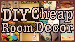 diy cheap room decor ways to spice up your room youtube