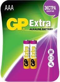 Купить <b>AAA Батарейка GP Extra</b> Alkaline 24AX LR03 в интернет ...