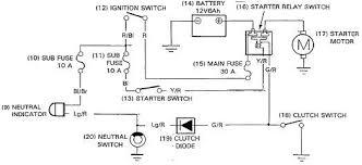 starter motor relay wiring diagram boulderrail org Indicator Wiring Diagram Relay motorcycle starter motor wiring diagram relay Relay Switch Wiring Diagram