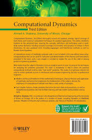 computational dynamics amazon co uk ahmed a shabana computational dynamics amazon co uk ahmed a shabana 9780470686157 books
