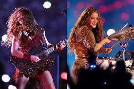 <b>Shakira</b> Plays Guitar + Drums During Super Bowl LIV Halftime Show
