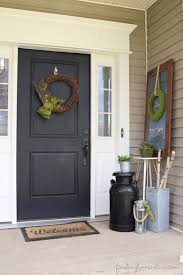 front door decor summerSummer Front Porch Decorating  Finding Home Farms