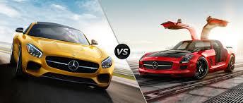 Mercedes-AMG GT vs Mercedes-Benz SLS AMG