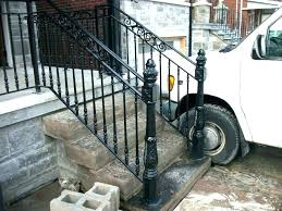 diy outdoor stair railing ideas railings view larger exterior latest door design ide