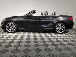 black bmw convertible 2015. Interesting 2015 Certified PreOwned 2015 BMW 2 Series 228i XDrive On Black Bmw Convertible