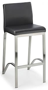 fozany brushed kitchen breakfast bar stool various colours fixed height