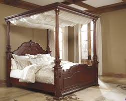 Make Your Own Canopy Bedroom Install Wide Ceiling Fan Above Classic Canopy Bedroom
