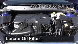oil filter change buick verano 2012 2016 2013 buick verano 5 oil filter