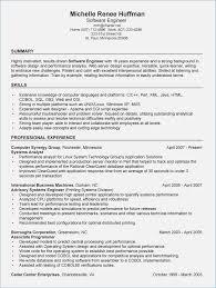 Best Resume Software Best Summary for Resume software Engineer globishme 19