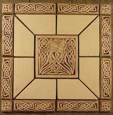 celtic owl tile set