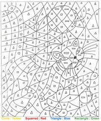 Small Picture printable color number for adults coloring pages Color By Number