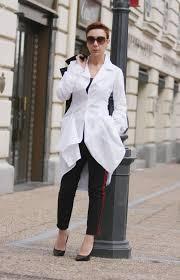 Designer Womens White Blouse White Top Shirt Blouse Cotton Shirt For Women Designer