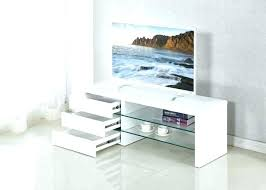 contemporary glass tv stands full size of modern white stand with fireplace for contemporary glass