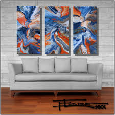 huge abstract modern canvas wall art   x  inches by