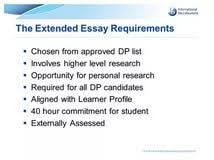 Ib extended essay criteria   Affordable Price Download History Extended Essay Example