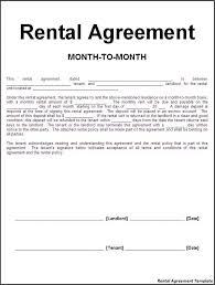 Rental Contract Template Word Free Rental Agreement Word Document Barca Fontanacountryinn Com