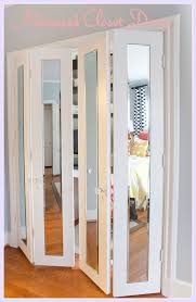 i will have mirror closet doors instead of my wood ones For the
