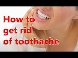 how to stop a toothache fast
