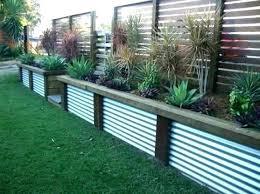 contemporary garden fence ideas fencing