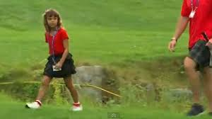 Tiger woods is one of the greatest golfer's ever witnessed in the sports industry. Tiger Woods Daughter Sam Dresses In Red Top Just Like Father At Deutsche Bank Championship Video Nesn Com