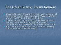 essay questions for the great gatsby world war introduction essay questions for the great gatsby