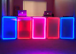 picture of lightweight interactive led dj panels