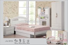 Kids Full Size Bedroom Furniture Sets White Pink Princess Children Bedroom Furniture Children Wardrobe