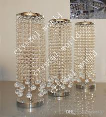 by bulk elegant crystal table top chandelier centerpieces for simpleminimalist wedding decorations in casual