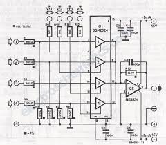voltage controlled audio mixer circuit 4 channel audio mixer circuit schematic
