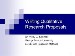 Powerpoint Template Research Writing Qualitative Research Proposals For Presentations