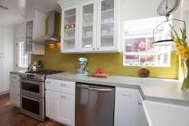 Kitchen, Small Galley Kitchen Design Layouts Black Stained Steel Pendant  Lamp Grey Full Area Fur