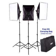 3000 watt photography continuous output light softbox lighting kit for portrait