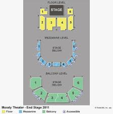 Acl Seating Chart Moody Theater Seating Chart Awesome Acl Moody Theater