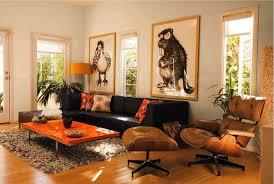 Orange Decorating For Living Room Orange Living Room Decor Ideas Nomadiceuphoriacom