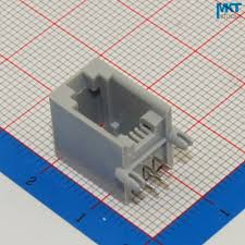 popular 4p4c connector buy cheap 4p4c connector lots from 100pcs gray 4p4c rj11 female pcb mount telephone modular connector socket interface for plug jack