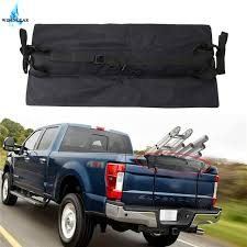 27.6Inch Black Tailgate Rack Pad w/ Straps For Ford F150 For Dodge ...
