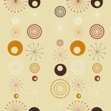Retro Pattern Fascinating Retro Pattern Background Vector Free Download
