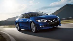 2018 nissan maxima. plain maxima 2018 nissan maxima sr exterior front side profile shown in deep blue pearl to nissan maxima